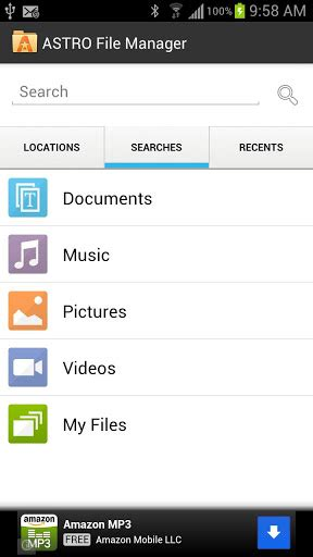 file manager for android tablet free astro file manager for android tablet