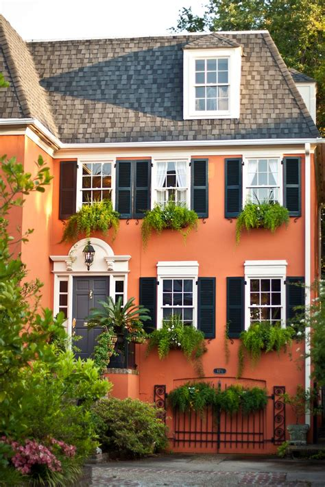 colorfu houses painting 10 bold colors to paint your home s exterior