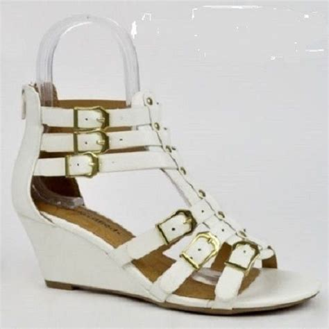 Sandal Wanita 005 Gladiator Sandal White Putih best 25 white gladiator sandals ideas on gladiator sandals lace up gladiator
