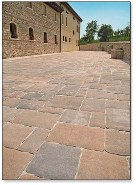 finish stone materials pavers profiles finishes concrete pavers carroll s building materials