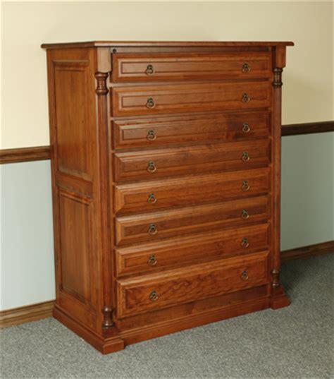 Gun Cabinet Dresser by The Woodloft 138 S
