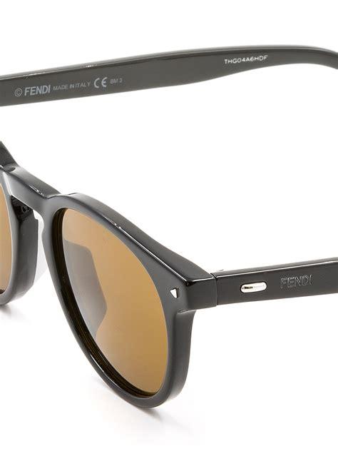 occhiali con occhiali da sole con lenti gialle fendi occhiali da sole