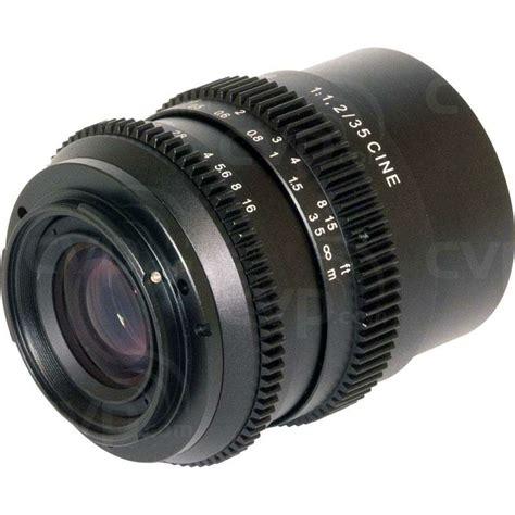buy slr buy slr magic 35mm f 1 2 cine lens sony e mount slr