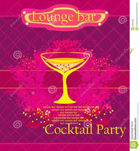 cocktail invitation cards cocktail invitation card royalty free stock image