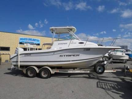striper boats for sale australia seaswirl striper 2301 wa family fishing diving huge open