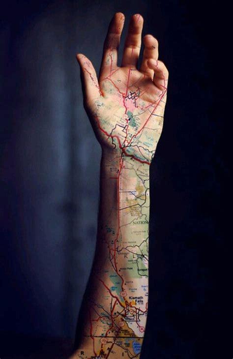 eyeliner tattoo oregon map tattoos to fuel your inner wanderlust wanderlust