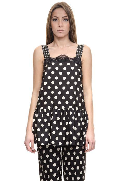 Top Polka Is top large polka dot black set fard clothing