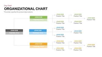 powerpoint charts templates organisational chart powerpoint and keynote template