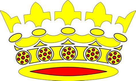 format gambar pada desain vektor gambar cartoon crown title png gambar mahkota format di