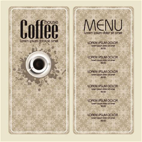 coffee price list template 8 great free coffee shop menu design and layout