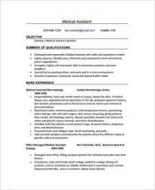 Medical Assistant Resume Sample Resume Template Medical Assistant Best Template Example