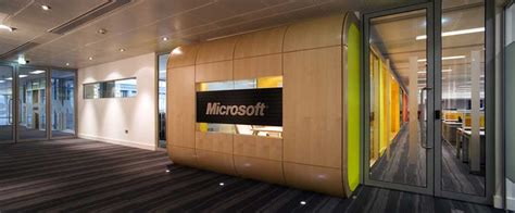 Microsoft Offices by Microsoft Scotland Offices Headquarters Edinburgh