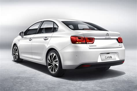 new citroen citro 235 n launches new c4 sedan in china carscoops