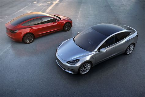 tesla model 3 electric car tesla model 3 unveiled and priced production to begin in