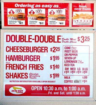inn n out burger menu in n out burger menu and prices 2018 restaurantfoodmenu
