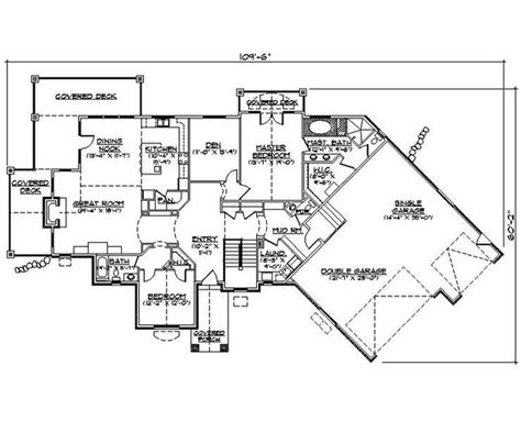 side garage floor plans this 2378 square feet traditional style 5 bedroom 4 bath