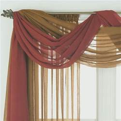 how to drape a scarf valance 17 best ideas about window scarf on pinterest curtain
