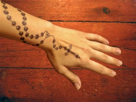 tattoos cross hands christian henna rosary 1920x1439