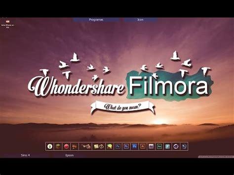 tutorial filmora en español wondershare filmora editor de v 237 deos como utilizarlo