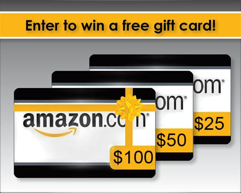 How To Win A Free Amazon Gift Card - amazon gift card giveaway easy work home jobs
