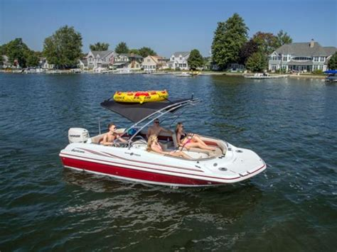 wakeboarding behind a hurricane deck boat hurricane ss 201 ob boats for sale