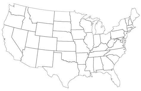 printable us map us map with states and capitals list worksheets