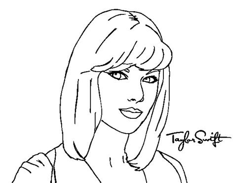 taylor swift coloring pages bestofcoloring com