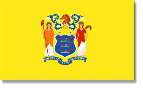 new jersey state colors state flag descriptions