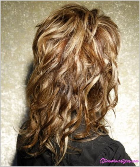 cury layered hairstyles for 9 years curly layered haircuts with bangs allnewhairstyles com