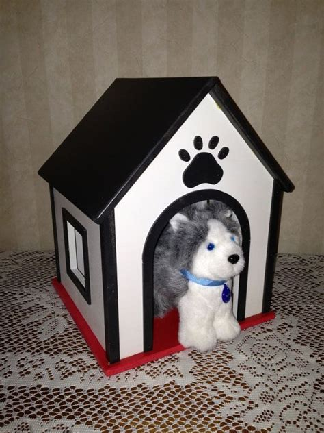 girl dog house dog cat or pet house for american girl or 18 inch doll pets for bo
