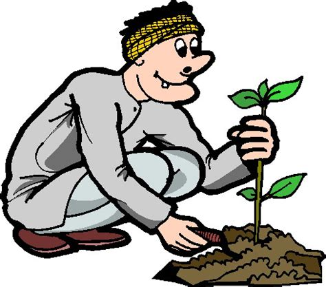 clip gardener gardening clip