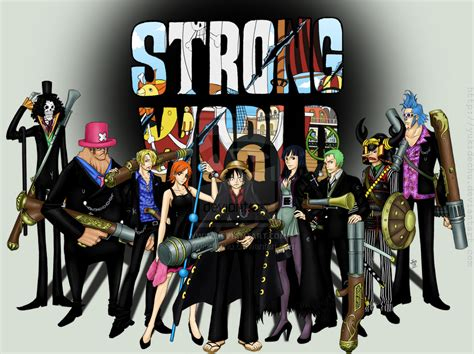 one piece film x strong world one piece film strong world movie s