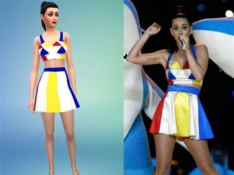 The Sims 2 Apartment Katy Perry Cruzo S Katy Perry S Bowl Suit Vetement Sims 4