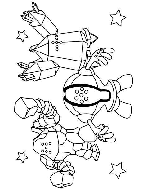 pokemon registeel coloring pages pokemon paradijs kleurplaat regirock registeel en regice