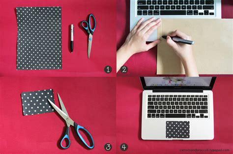 decora el trackpad de tu notebook gu 237 a de manualidades - Como Decorar Un Notebook