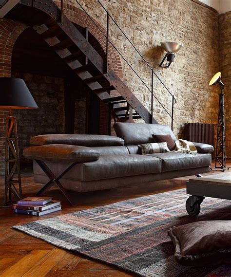 Industrial Rustic Living Room by Masculine Let Us Pretend Fragments