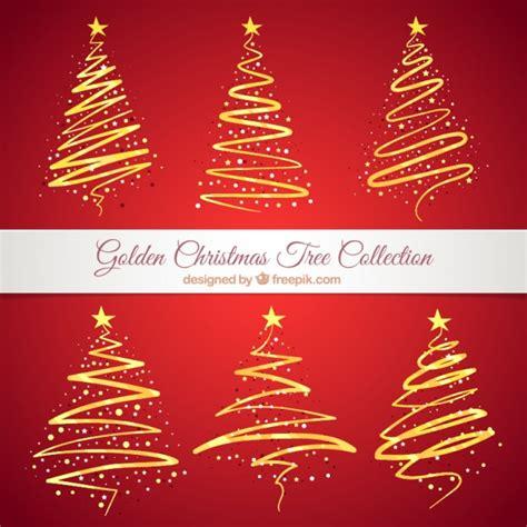 imagenes de navidad gratuitas colecci 243 n de 225 rboles de navidad abstractos dorados
