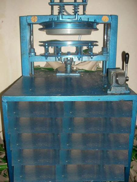 Paper Plate Machine - products single die paper plate machine