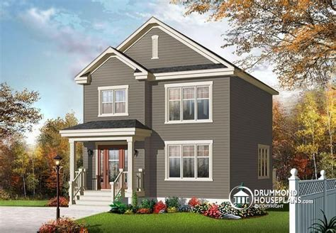 Plan De Maison Plain Pied 4 Chambres 3547 by W3709 V1 Affordable American Classic 2 Storey Home