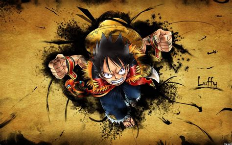 wallpaper hd luffy 11105 one piece luffy gear second widescreen wallpaper