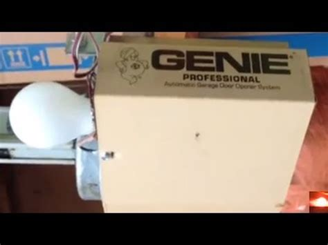 Troubleshoot Genie Garage Door Motor Opener Youtube Garage Door Opener Troubleshooting Genie
