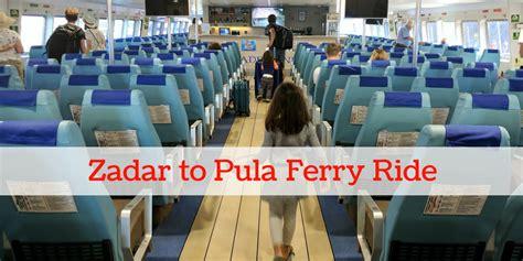 ferry boat zadar pula ferry from zadar to pula with kids murphysdocroatia