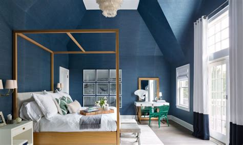 moody interior breathtaking bedrooms in shades of blue decoist architecture and modern design