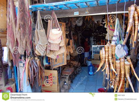 Shop Indonesia traditional gift shop entrance editorial stock photo