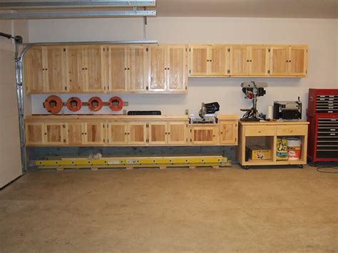 Wooden Cabinets For Garage by Building Wood Cabinets Garage Discover Woodworking Projects