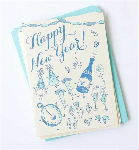 creative new year greeting cards 50 creative new year card designs for inspiration jayce