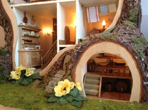 tree doll house miniature tree house displaying stunning details by maddie