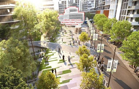 design competition city of sydney green square library design competition australian