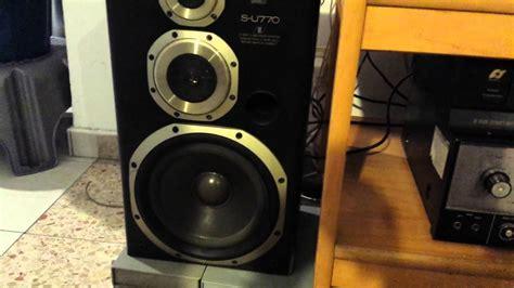 Speaker Sansui K 615 1set sansui s u770 speakers the junk built and looking but surprising