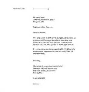 Employment Letter Template Word by 10 Letter Of Employment Templates Free Sle Exle